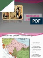Renesansa u Hrvatskoj1