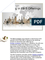 Investing in EB-5 Offerings