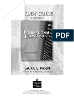 Study Guide for International Economics by Gerber
