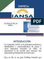 EMPRESA IANSA LO DULCE DE LA VIDA GRUPO 9 .pptx