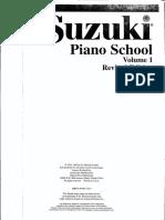 Metodo Piano Suzuki 1-7
