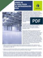 Recomendaciones de Construcción Para Pisos en Cámaras de Refrigeración y de Congelados