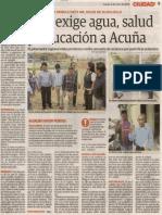 04-06-15 Virú exige agua, salud y educación a Acuña