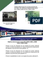 Leonardo Espinosa & Edgar Arizmendi - Consideraciones Practicas en La Evaluación de CMMs de Grandes Dimensiones