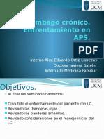 Lumbago Crónico Med Familiar.