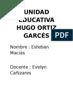 Unidad Educativa Hugo Ortiz Garcés