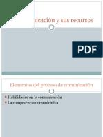 1.- La Comunicación y Sus Recursos