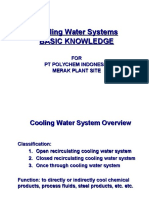 Training Cooling Water Handout for Operator