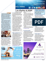 Business Events News for Thu 14 Jan 2016 - AIME brings back welcome event, Arabian Adventures merger, CINZ, Saxton, IBTM, AccorHotels, GECC and more