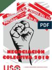 NEGOCIACION COLECTIVA 2010