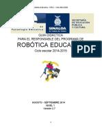 Guia Didactica Robotica 2014 2015
