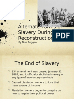 Alternate Forms of Slavery