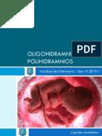 Oligohidramnios y Polihidramnios