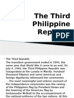 Accomplishements of the Presidents of the Philippines