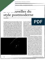 Jullier_Des Nouvelles Styles Du Postmoderne