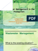 Wastewater Management in the Philippines