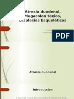 Atresia Megacolon Esqueleticas