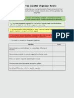 derivatives graphic organizer rubric