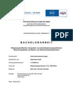 Releasespezifisches Verwalten von betreiberInnenspezifschen Steuerungsdaten auf Basis von Klartext-Datenspeichern