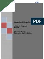 Despacho de Unidades_TX VL01N