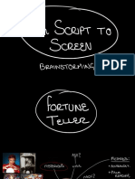 From Script to Screen - Brainstorm