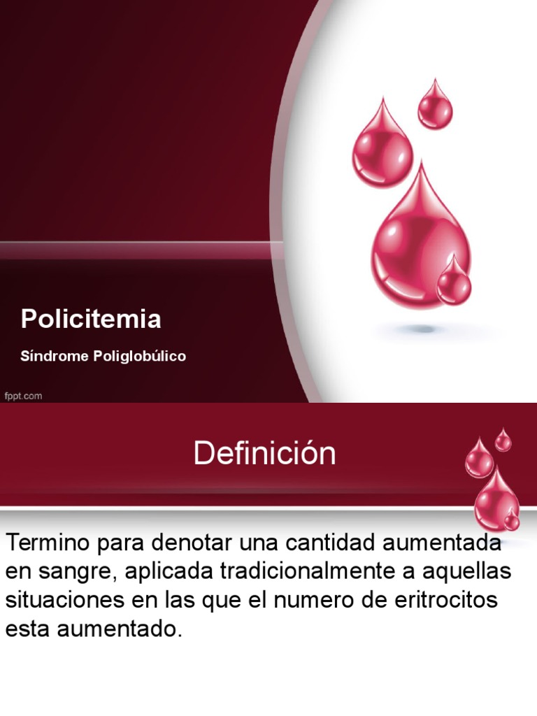 Sindrome poliglobulico - Hipertensión - Especialidades médicas