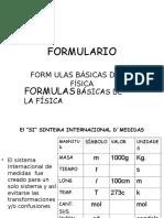 16678103 Formulario de Fisica