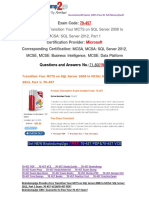 [100% PASS]Braindump2go 70-457 Study Guide 71-80
