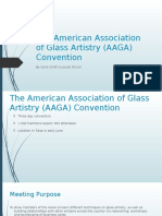 american association of glass artistry convention
