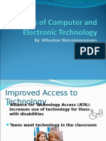 7. Benefits of Computer and Electronic Technology