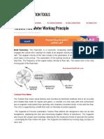 Turbine Flow Meter Working Principle (2)