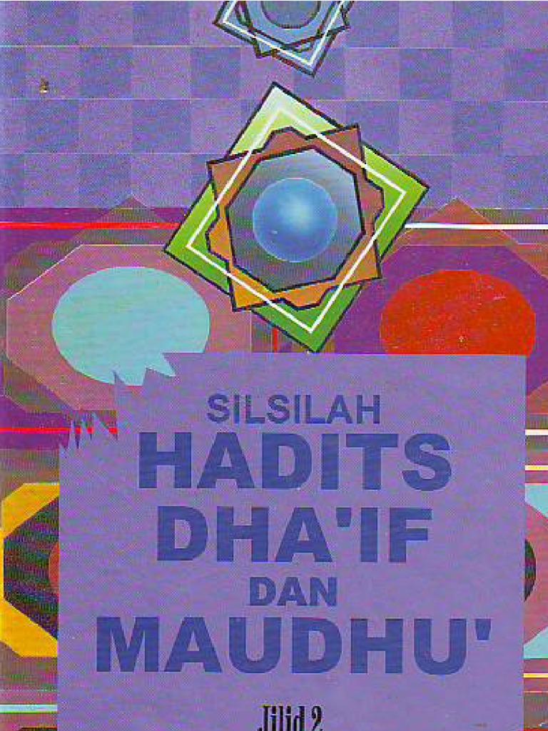 Ebook Silsilah Hadits Dhaif Dan Maudhu Jilid Ii