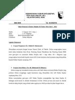 Minit Mesy Badan Disiplin Kali 1 2011