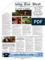 The Daily Tar Heel for Jan. 14, 2016