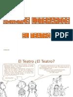 Teatro géneros literarios
