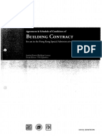 Standard Form of Building Contract, Private Edition -With Quantities(2005 Edition)
