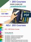 ADJ 265 Proactive Tutors/snaptutorial