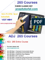 ADJ 265 Proactive Tutors/snaptutorial
