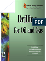 Drilling for Oil and Gas