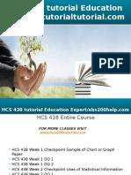HCS 438 Tutorial Education Expert - Tutorialtutorial.com