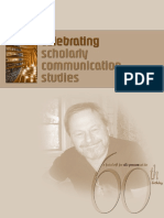 scholar communication studies