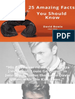25 Amazing Facts Everyone Should Know about David Bowie