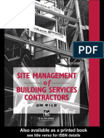 Site Management of Building Services Contractors_1