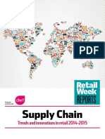 Supply Chain Trends and Innovations in Retail 2014-2015