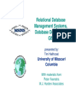 Study on Relational Database Management Systems, Database Design