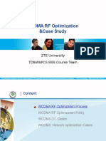 WCDMA optimization case study