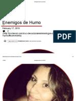 Enemigos de Humo _ CVCLAVOZ