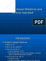 Evidence BasedMedicineandCriticalAppraisal Mycopy1