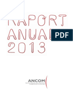 Raport Anual 2013 Site Machetat