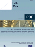 The LIME assessment framework (LAF) - A methodological tool to compare, in the context of the Lisbon Strategy, the performance of EU Member States in terms of GDP and in terms of twenty policy areas affecting growth